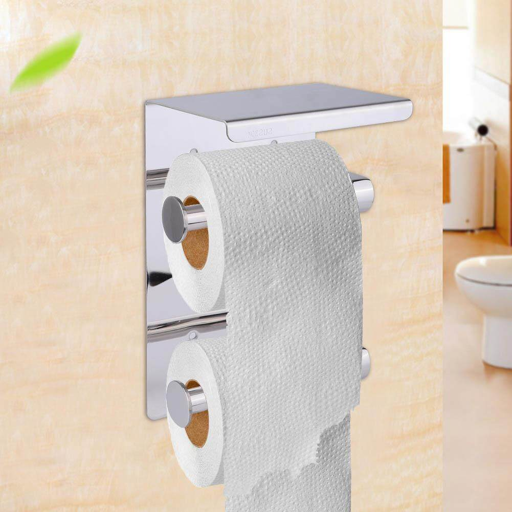 Bathroom Fixtures Bright Adhesive Paper Towel Holder Under Cabinet For Kitchen Bathroom Paper Holders Bathroom Toilet 11