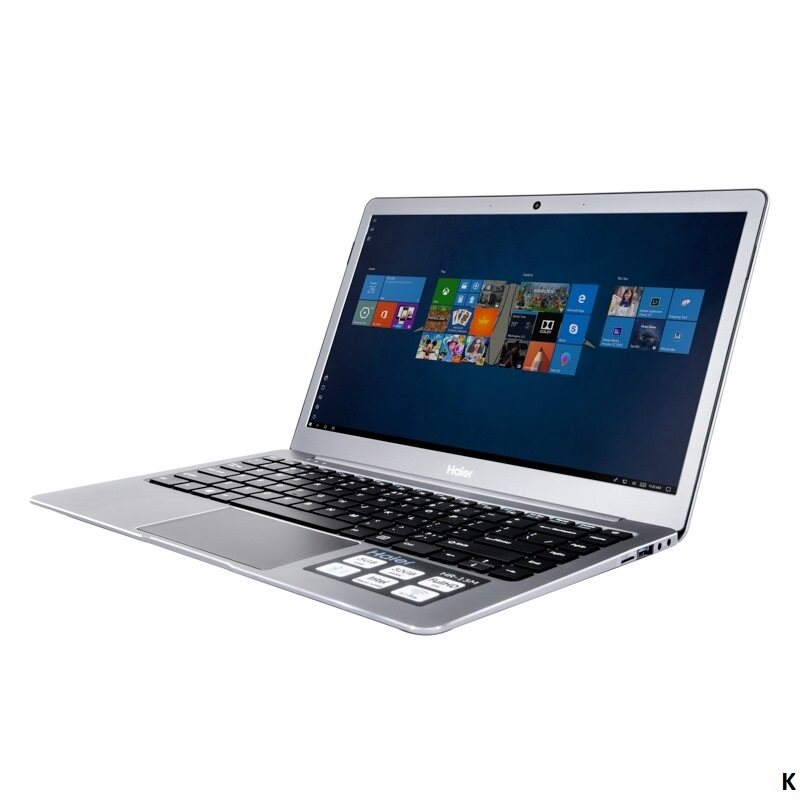 (READY STOCK) HAIER S1 ULTRA THIN NOTEBOOK-INTEL N4000,4GB,128GB SSD(FOC MOUSE) 13.3 LED Malaysia