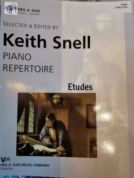 Keith Snell Piano Repertoire (Etudes)-Level 5 Malaysia