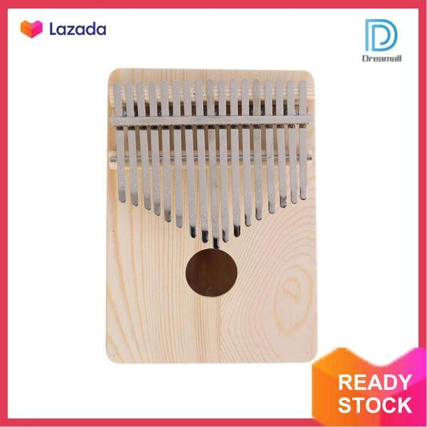 [Dreamall] 17 Key Kalimba Thumb Finger Piano Wooden Musical Instruments for Beginners Malaysia