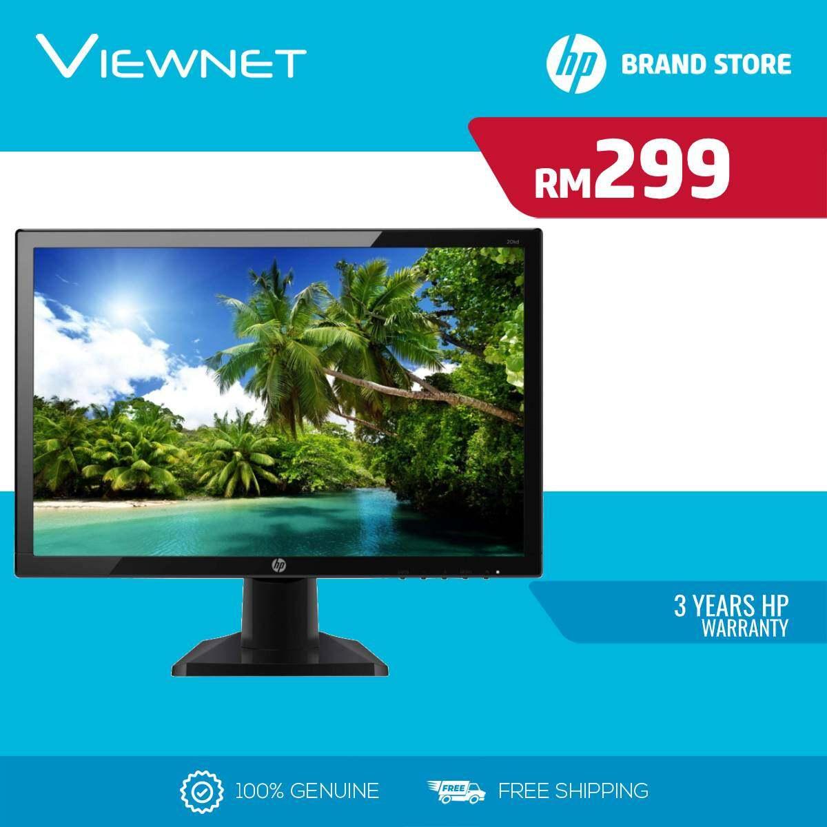 HP Led Flat 19.5 20KH 3WK96AA Monitor (TN-5MS-VGA-HDMI-VESA) Malaysia