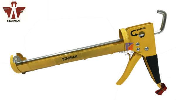 Starman Heavy Duty Silicone Gun Hand Pump With cutter