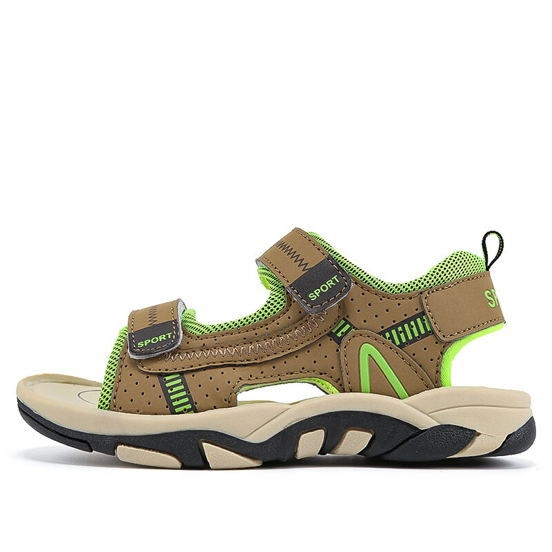 Casual Student Leather Sandals Soft