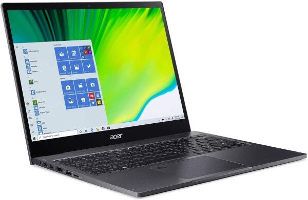 Acer Spin 5 Convertible Laptop, 13.5 2K 2256 x 1504 IPS Touch, 10th Gen Intel Core i7-1065G7, 16GB LPDDR4X, 512GB NVMe SSD, Wi-Fi 6, Backlit KB, FPR Malaysia