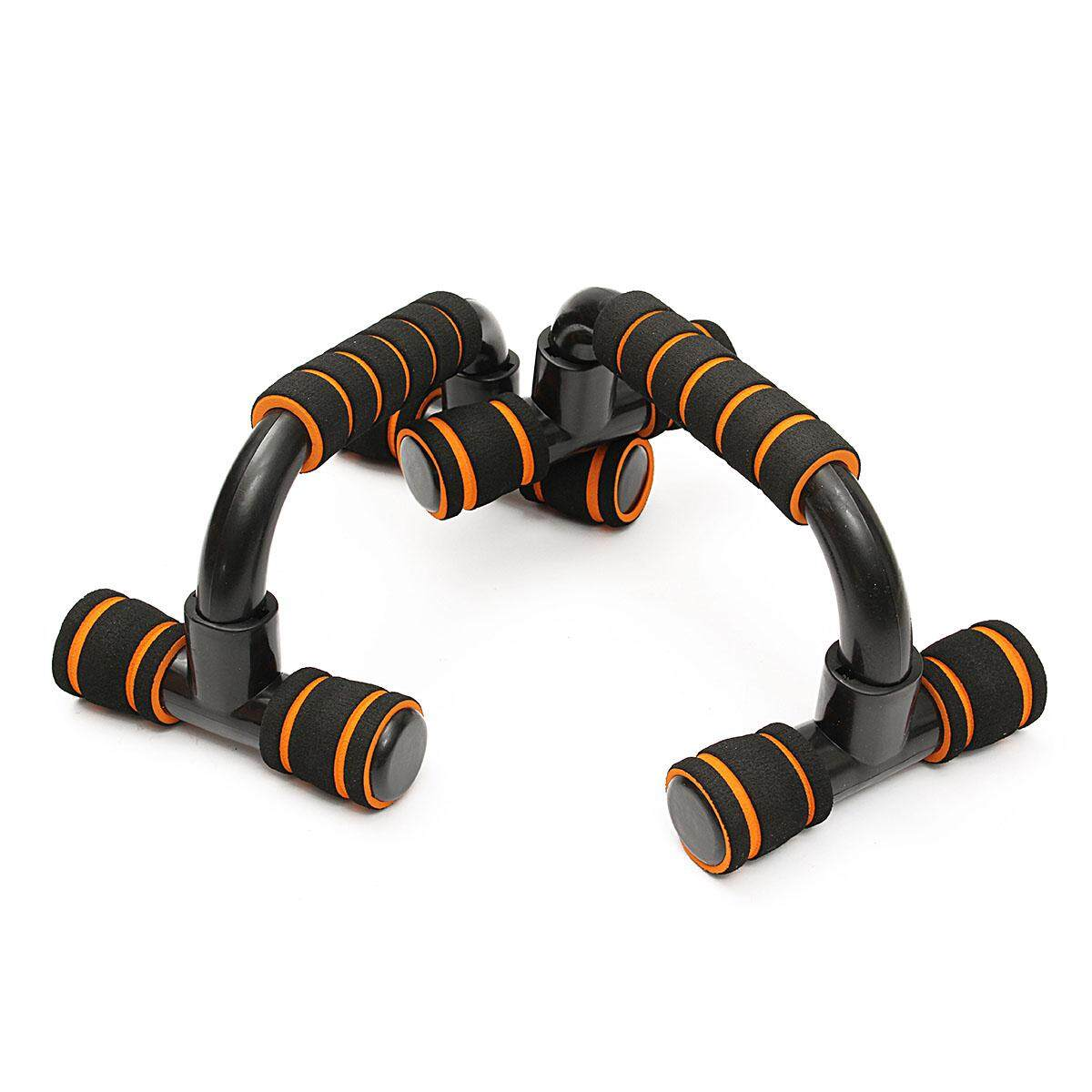 2x Handle Push Up Stands Pull Gym Bar Workout Training Exercise Home Fitness By Qiaosha.
