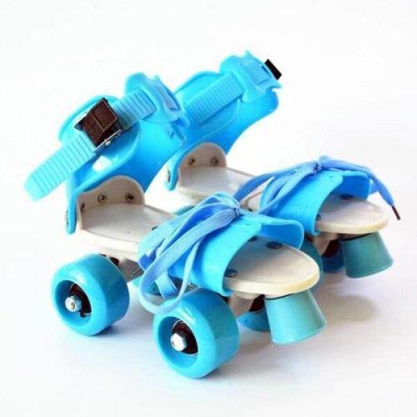 Mua Trẻ Em Mới Hai Dòng Giày Trượt Pa-tanh Hai Hàng 4 Bánh Giày Trượt Băng Kích Thước Có Thể Điều Chỉnh Trượt Giày Trượt Patin Một Hàng Bánh Quà Tặng Cho Trẻ Em