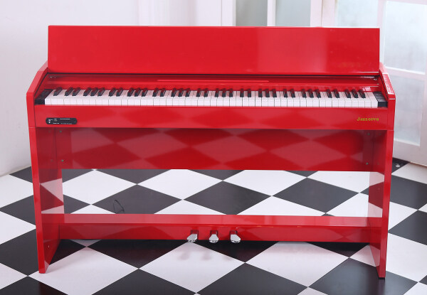 Exam Grade/ Master Grade High Gloss Red Digital Piano 88 Keys Malaysia