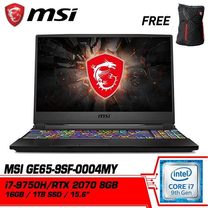 GE65 Raider 9SF 004MY (GeForce® RTX 2070, 8GB GDDR6) Malaysia