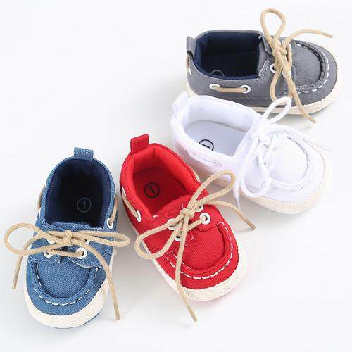 quality design b47a2 5c1db Baby Newborn Girl Boy Denim Soft Sole Toddler Infant Shoes Prewalker Sneaker