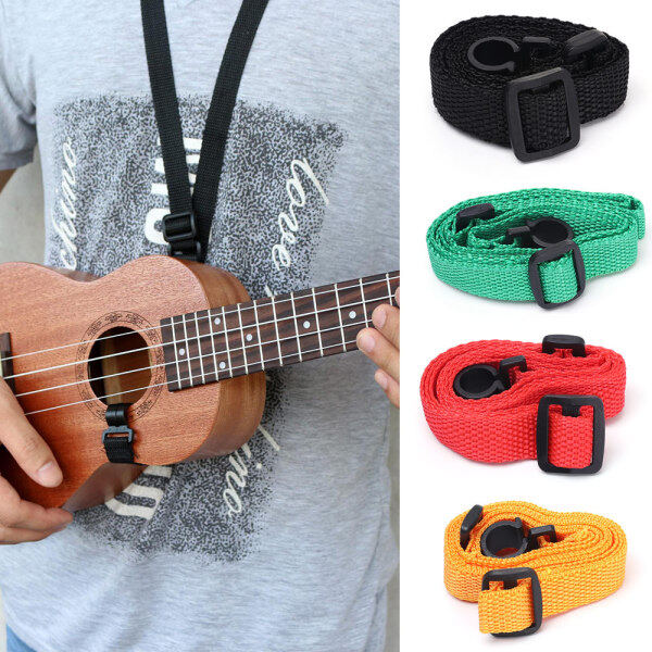 Adjustable Nylon Ukulele Strap Guitar Hang Neck Hot Sale Music Instrument Straps With Hook Durable Guitar Accessories Malaysia