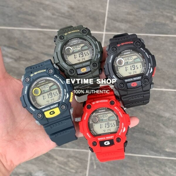 READY STOCK 100% ORIGINAL CASIO MATMOTO G-SHOCK G-7900 SERIES G-7900-1DR / G-7900-2DR / G-7900-3DR / G-7900A-4DR Malaysia