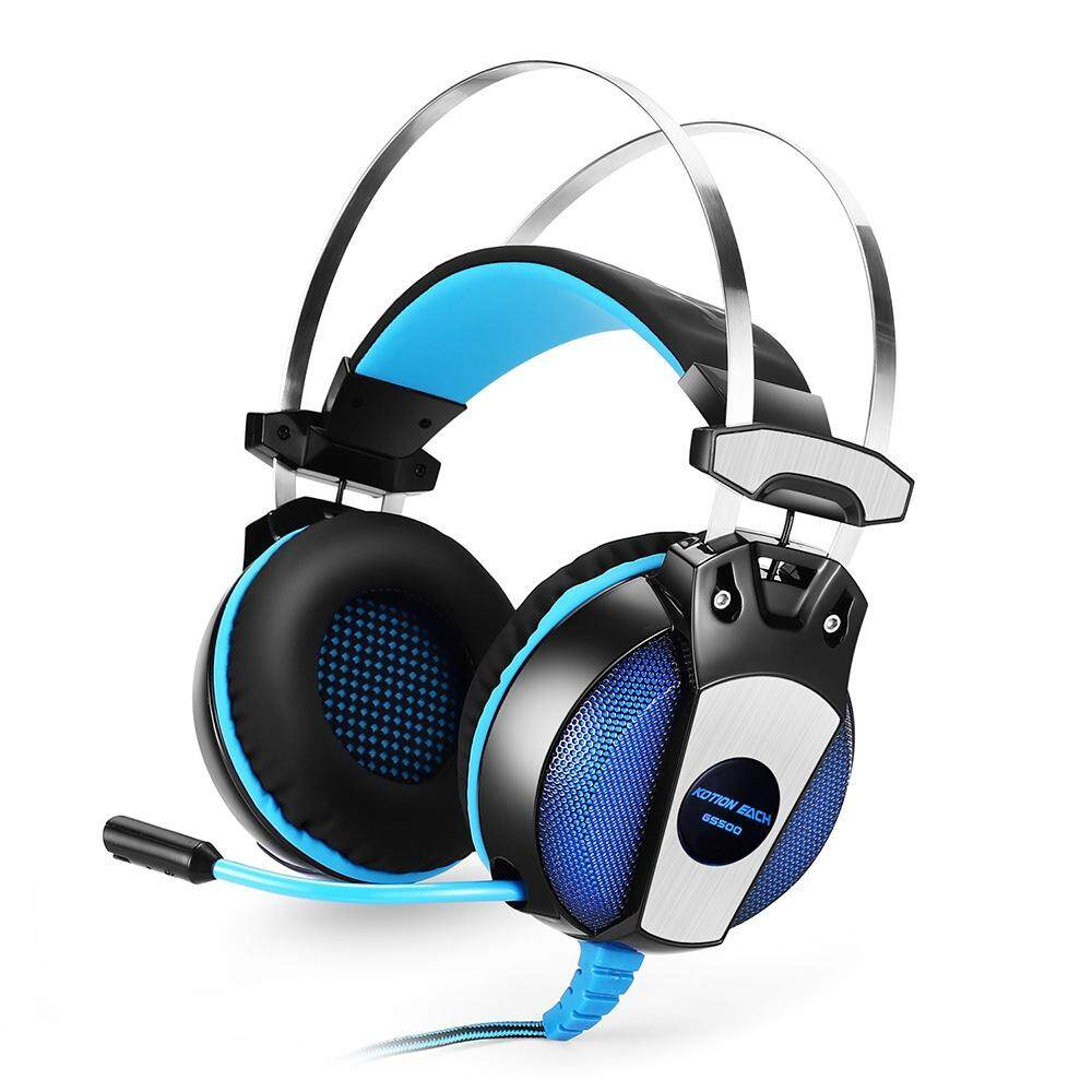 25bd4c07415 KOTION EACH GS500 Gaming Headsets Headphones with LED Light Microphone Noise  Canceling for PS4 / PC