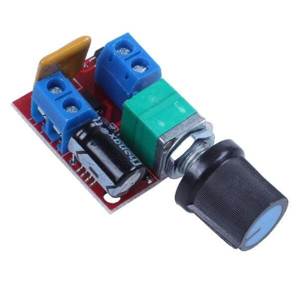 Mini DC Motor PWM Speed Controller 3V 6V 12V 24V 35VDC 90W 5a DC Motor Speed Control Switch LED Dimmer Malaysia