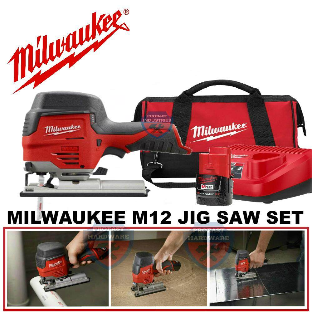Milwaukee M12 JIGSAW SET M12JS-301C