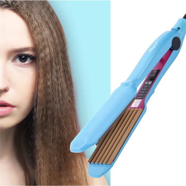 [Hot deal] Cây bấm tóc Ckeyin Nhiệt độ Điều chỉnh Làm nóng nhanh Công cụ tạo kiểu tóc chuyên nghiệp