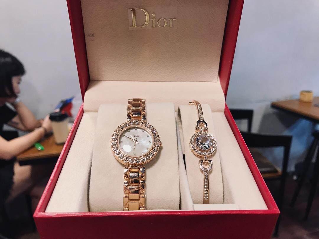 Original_Dior sells two-piece watches + big diamond bracelets Malaysia