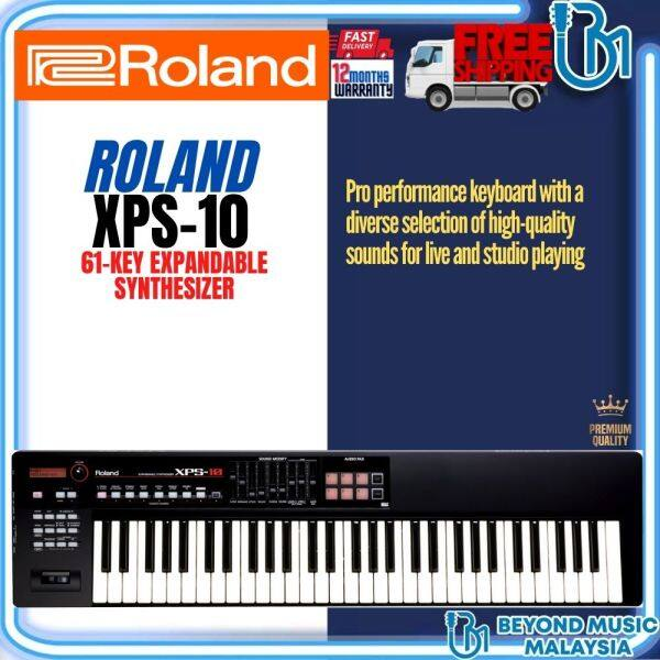 Roland XPS-10 61 Keys Expandable Synthesizer Portable Keyboard (XPS10 XPS 10) Malaysia