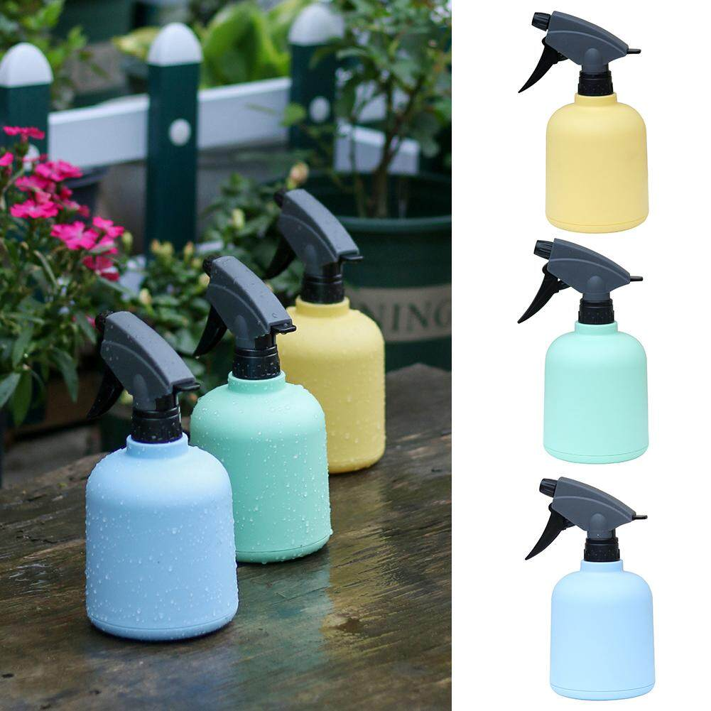 Candy Color Small Watering Sprinkler Spray Bottle Watering Can Meaty Watering Pot Beauty Salon Sprayer Candy - Colored Plant Mister 0.6L Water Spray Bottle with Top Pump