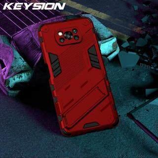 Ốp Điện Thoại Chống Sốc KEYSION Ốp Lưng Điện Thoại Đứng Cho Xiaomi POCO X3 NFC M3 Mi 11 11i 10S 10T Lite, Dành Cho Pocophone F3 F2 Pro M2 thumbnail