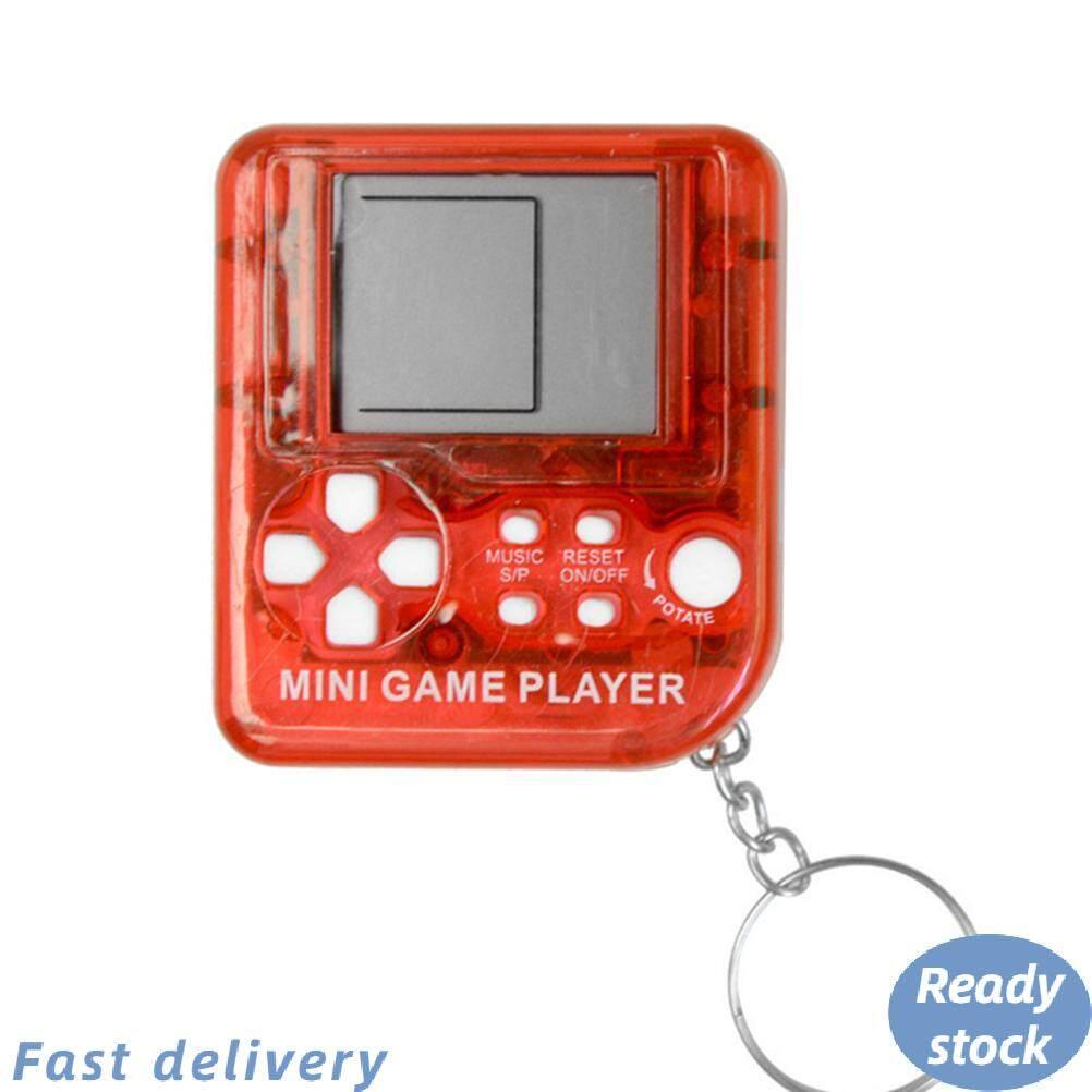 Móc Khóa Điều Khiển Trò Chơi Cổ Điển Mini Retro Tiện Dụng Máy Chơi Game Cầm Tay LCD, Đồ Chơi Điện Tử Chống Căng Thẳng Keychain