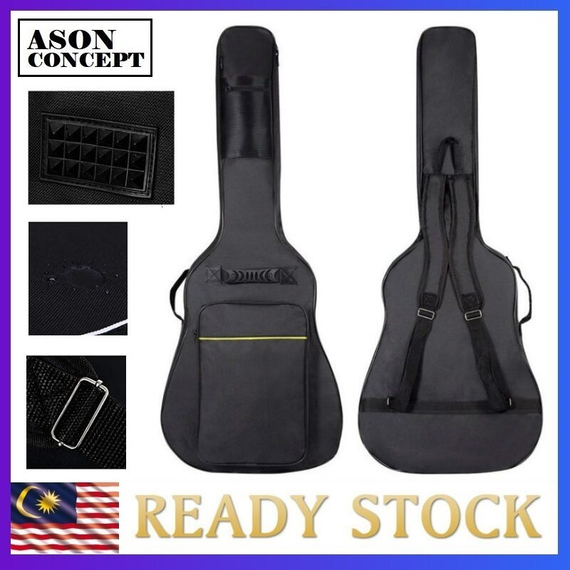 GUITAR BAG 41 INCH ACOUSTIC GUITAR BAG PADDED GB002 Asonconcept Malaysia