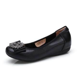 Lạc Đà Của Phụ Nữ Giày Với Đế Mềm Và Duy Nhất Giày A83521615 thumbnail