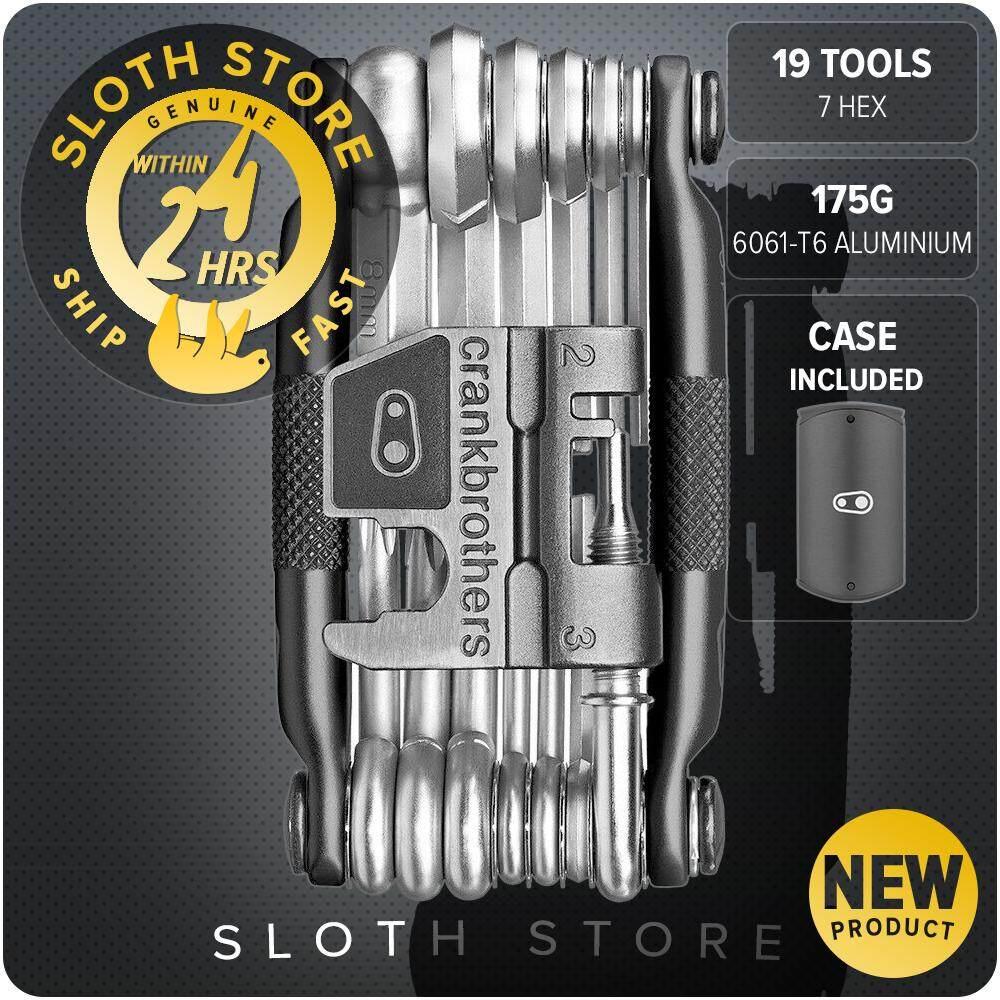 CRANKBROTHERs M19 - Multi-Tool, Steel Bike Tool, Torx, Hex and Chain Tool