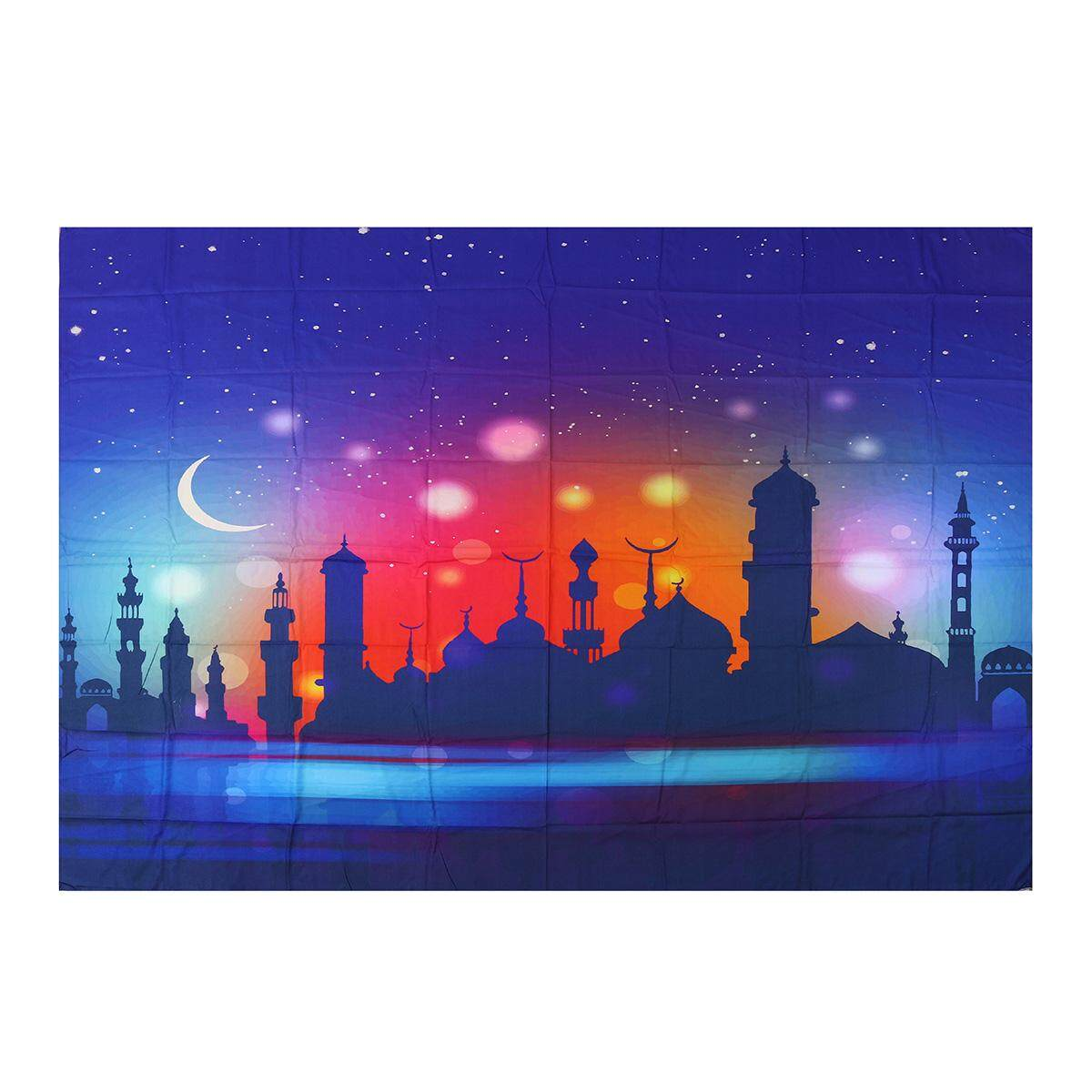 Tapestry Wall Hanging Islamism Eid Mubarak Ramadan Background Home Party Decor 59*78.7