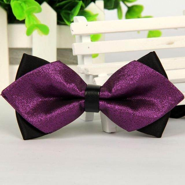 Pointed 12cm*6cm Men Tie Bow Ties 2014 Blue Jacquard Silk Bowties Luxury Gravatas Borboleta Bulk Lot Wholesale By Qingquanwan.