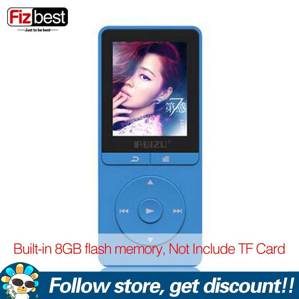 RUIZU X20 Portable 5 Colors MP3 Player With 1.8 Inch Screen 8GB Memory Music Player With FM Radio E-Book Voice Recorder Support TF Card