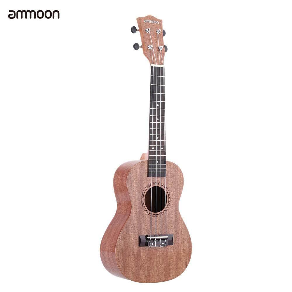 24 อุคุเลเล่ซาเปเล่ 4 Strings Rosewood Fretboard เครื่องดนตรีของขวัญวันปีใหม่ปัจจุบัน By Tomnet.