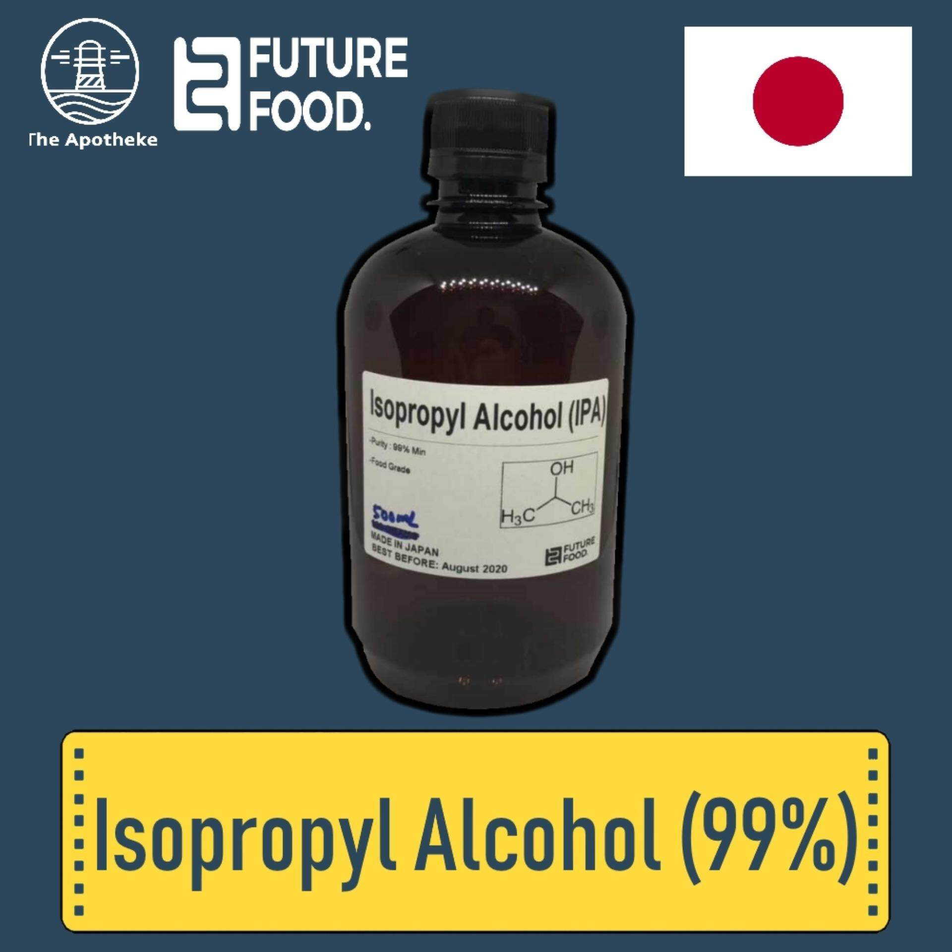Isopropyl Alcohol 500 Ml (99%)(import From Japan) Ipa /rubbing Alcohol By Future Food.