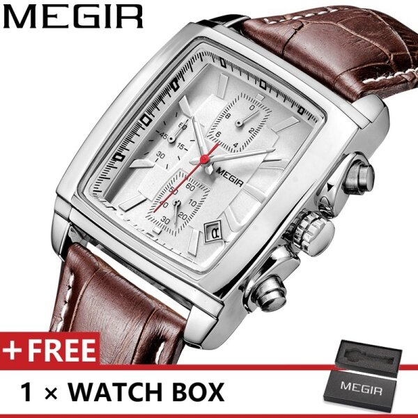 MEGIR 2028 Top Luxury Brand Watch For Man Fashion Sports Men Quartz Watches Trend Wristwatch Gift For Male jam tangan lelaki Malaysia