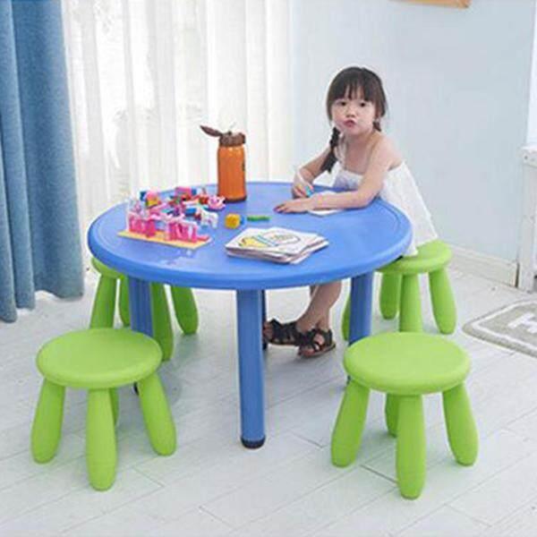 BolehDeals Pack 2 Children Assembling Stool Nursery Seat Furniture 12x12inch Green/Pink