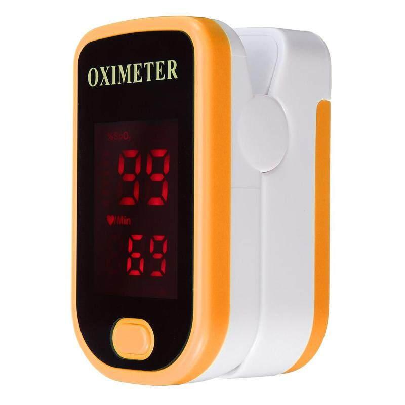 Ngón tay Pulse Oximeter Độ Bão Hòa Ôxy Máu Màn Hình SPO2 PR CE FDA LED # Cam bán chạy