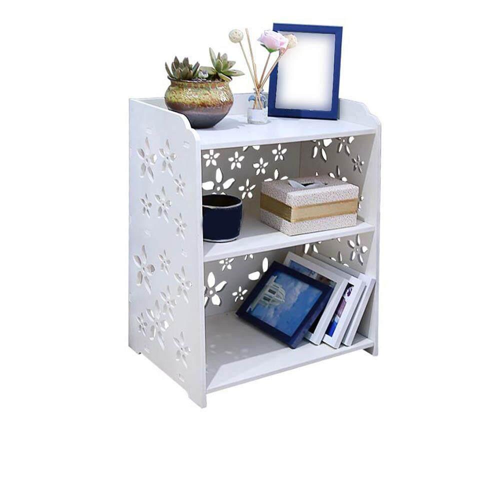 [Ji Nan De Shan Jiao Yu Zi Xun]  3 Tier Corner Shelf Modern Bedside Multiple Shelves Hallway Table Rack