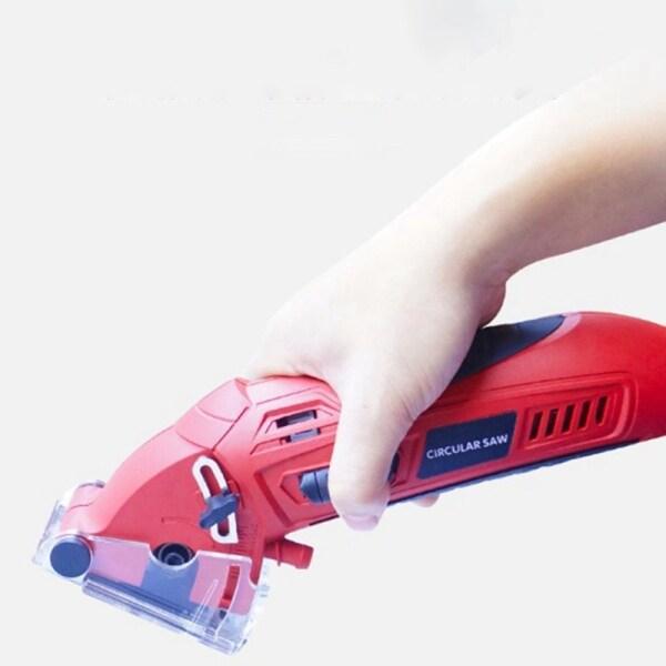 Dụng Cụ Cắt Bộ Máy Mài Cầm Tay Cưa Tròn Laser Mini Chạy Điện Với 3 Lưỡi