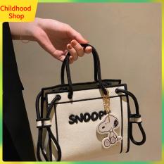 Giảm Giá Mới 2021 Túi Tote Snoopy Phiên Bản Hàn Quốc Dành Cho Nữ Túi Đeo Chéo Nữ Giảm Giá Túi Đeo Chéo Cho Trẻ Em Bé Gái
