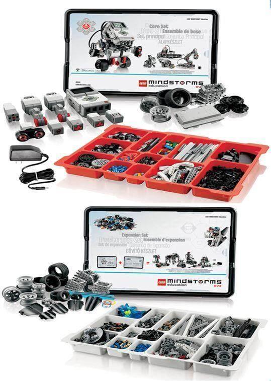 LEGO Mindstorms EV3 Core Set 45544 + Expansion set 45560 + 220v Charger Toys for boys | Lazada