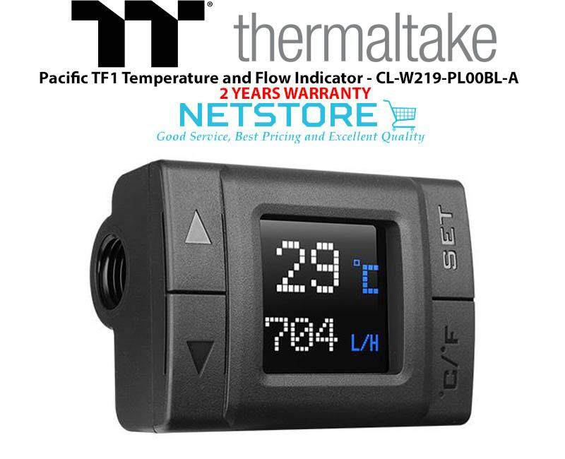 Thermaltake Pacific Tf1 Temperature And Flow Indicator Cl-W219-Pl00bl-A By Netstore.