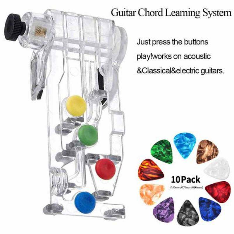 34 PCS Guitar Accessories Kit Including Guitar Picks,Capo,Acoustic Guitar Strings,3 in 1String Winder,Bridge Pins,6 String Bone Bridge Saddle and Nut,Finger Picks tali gitar akustik Ready Stock Malaysia