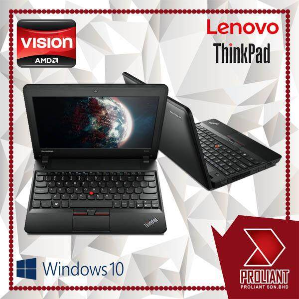 LENOVO THINKPAD X131E [AMD 2-CORE E450 PROCESSOR/ 4GB RAM/ WINDOW 10 PRO] 1 YEARS WARRANTY Malaysia