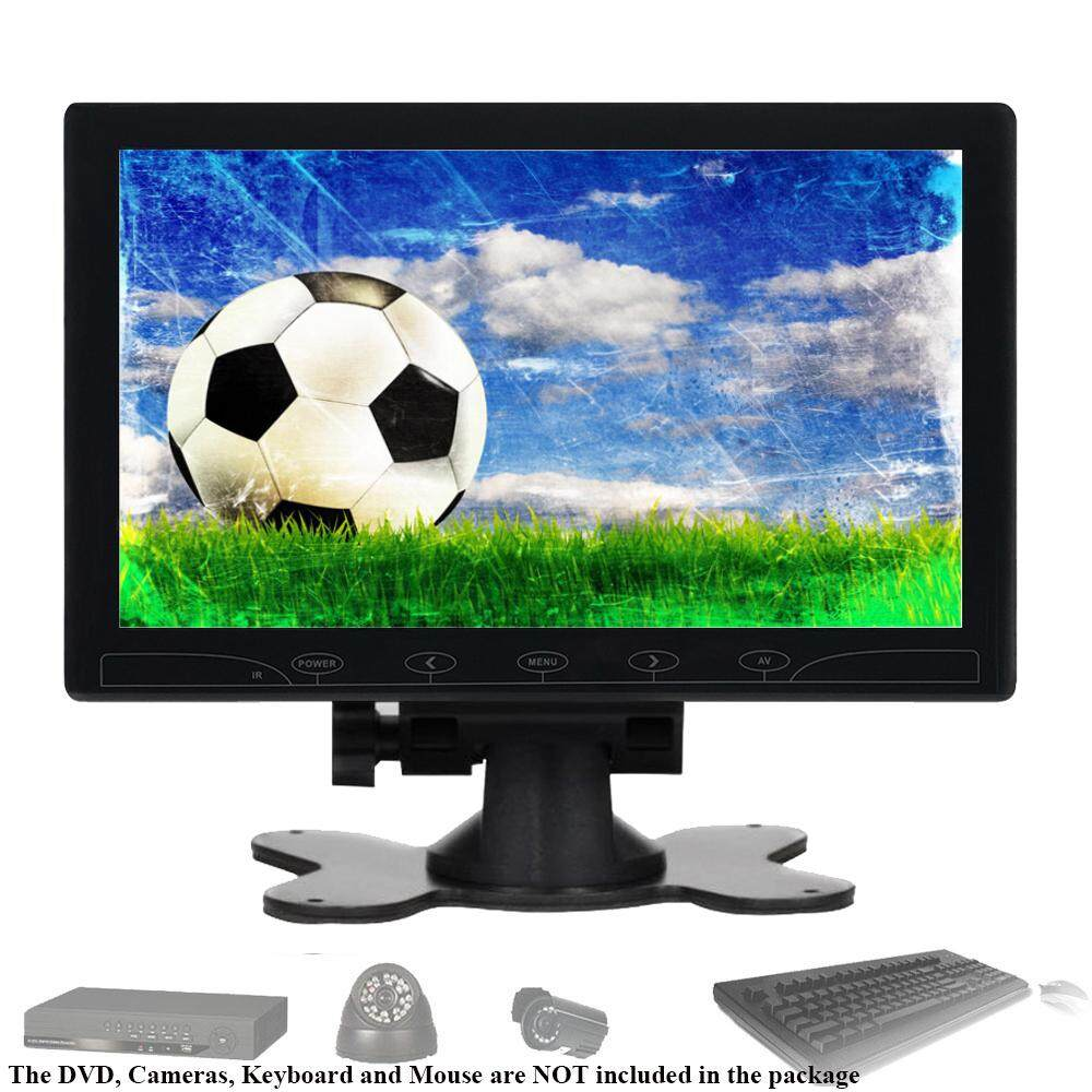 Portable 10 TFT LCD CCTV Monitor Touch Buttons PC Display Screen HD 1024*600 AV VGA HDMI Video for Home CCTV Security Camera, PC , Raspberry PI ,DSLR Monitor with Speaker Malaysia
