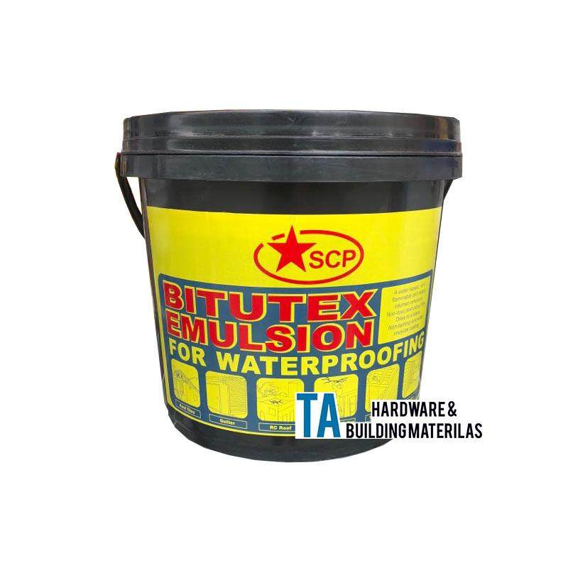 SCP BITUTEX EMULSION FOR WATERPROOFING (BLACK)