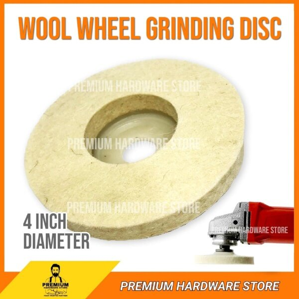 1x Wool Polishing Wheel Angle Grinder Buffing Disc Attachment Tool Grinding Accs