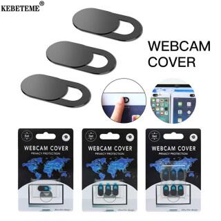 KEBETEME 3 Cái Vỏ Webcam Vỏ Camera Điện Thoại Thông Dụng Webcam, Máy Tính Xách Tay PC Máy Tính Bảng Ống Kính Sự Riêng Tư Sticker thumbnail