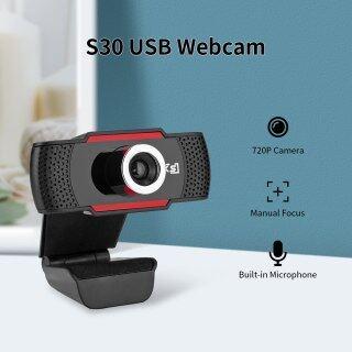 Webcam HXSJ S30 720P Máy Tính USB Camera, Micro Hấp Thụ Âm Thanh Tích Hợp Máy Quay Web Cuộc Gọi Video Dành Cho Máy Tính Xách Tay PC thumbnail