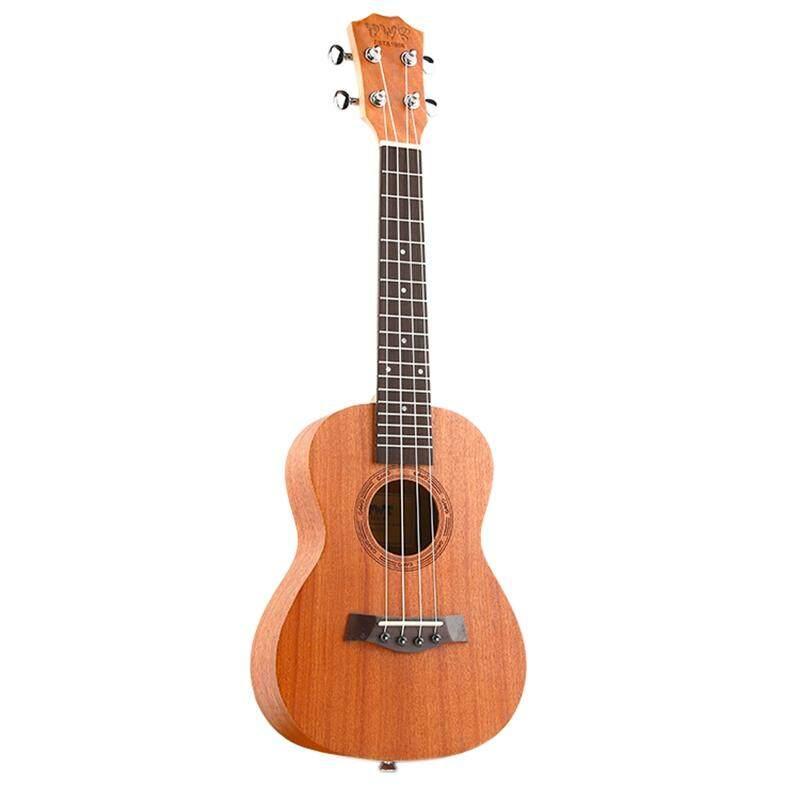 BWS EST & 1988 26 Inch Mahogany Wood 18 Fret Tenor Ukulele Acoustic Cutaway Guitar Mahogany Wood Ukulele Hawaii 4 String Guitarra