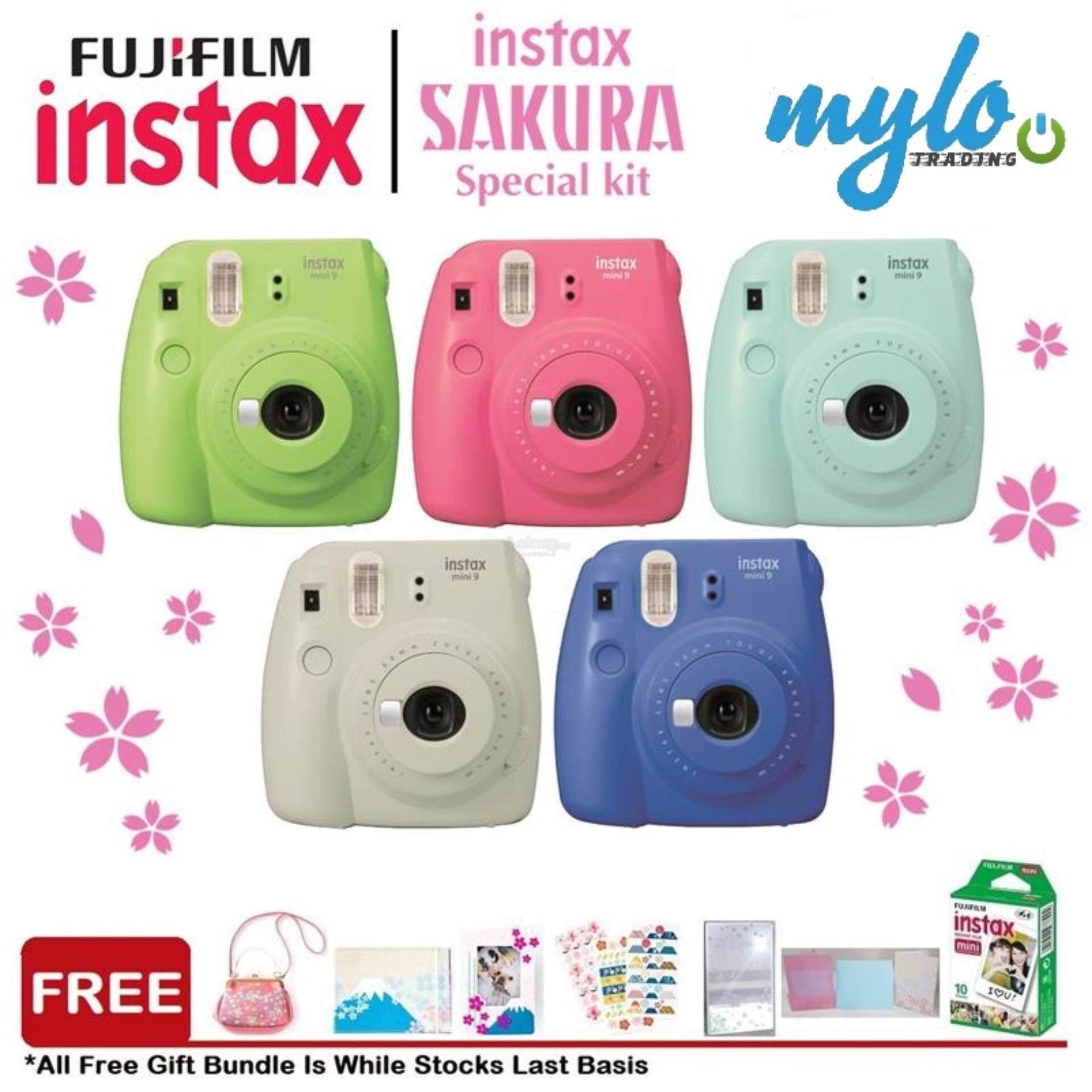 Fujifilm Instax Mini 9 Sakura Package By Mylo Trading Online Store.