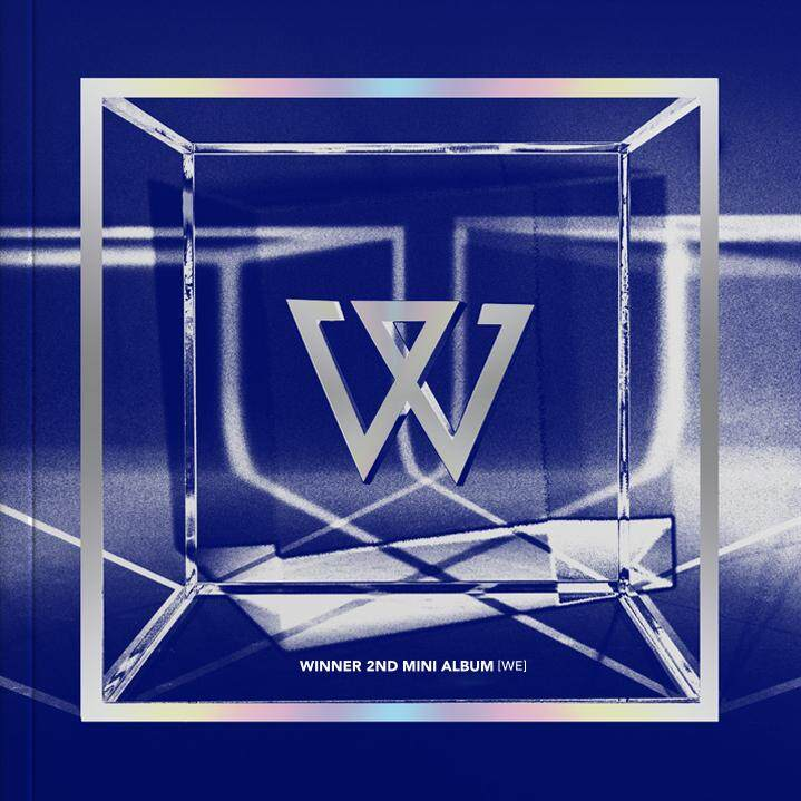 Winner - WE [BLUE ver ] (2nd Mini Album) CD+72p  Photobook+Postcard+Polaroid+2Photocards+Double Side Folded Poster+Double  Side Extra Photocards Set